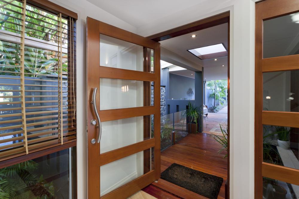 Entry Doors display