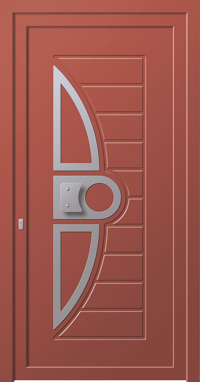 Entry Doors Linea Style 8